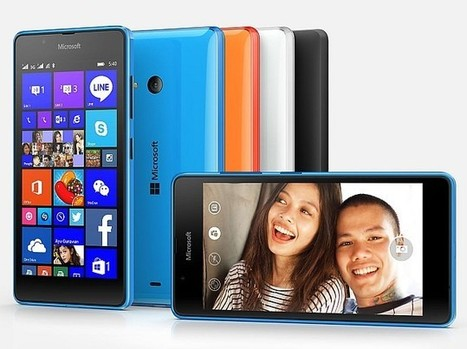 Microsoft Lumia 540 Dual SIM With 5-Inch Display Launched at Rs. 10,199 | Latest Mobile Apps | Scoop.it