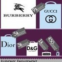 Top Pinterest Luxury Fashion Brands and Pins - Infographic by PinLeague | Pinterest | Scoop.it