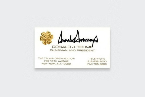 11 Famous Business Cards That Became Legendary | Proyectos | Scoop.it