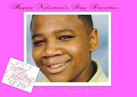 Beyond Scared Straight -Juvenile Justice Reform: Valentine Cards for Davontae | Juvenile Justice | Scoop.it
