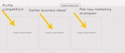 Pinterest's New Secret Boards: Why They Matter — socialmouths | Keep Up With The Web | Scoop.it