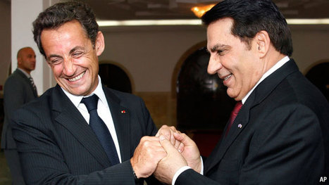 An embarrassed France backpedals from its support of Tunisia's Ben Ali - CSMonitor.com | Coveting Freedom | Scoop.it