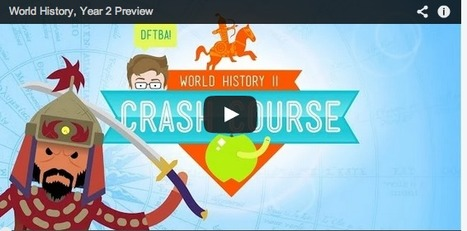 Free Technology for Teachers: Crash Course World History 201 | Transformational Teaching and Technology | Scoop.it