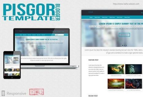 Pisgor Responsive Blogger Template | Blogger themes | Scoop.it