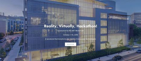 MIT Media Lab-Sponsored VR/AR Hackathon Coming This October | REALIDAD AUMENTADA Y ENSEÑANZA 3.0 - AUGMENTED REALITY AND TEACHING 3.0 | Scoop.it