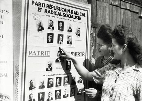 Il y a soixante-dix ans... les 33 premières femmes élues députées | Journée de la Femme | Scoop.it