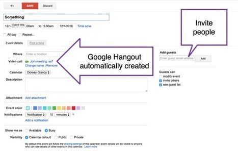 5 Things To Explore in Google Calendar - Teacher Tech | Zeitmanagement für Lehrer | Scoop.it