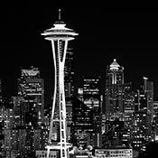 Space Needle - Seattle, Washington - Art by Jeffrey Bennett | Everything Photographic | Scoop.it
