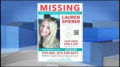 Bloomington police comment on Spierer's disappearance | Lauren Spierer | Scoop.it