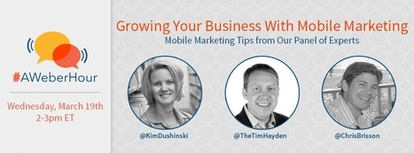 4 Things You Need to Know About Mobile Marketing in 2014 - AWeber | integrated marketing communications | Scoop.it