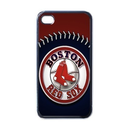 Apple iPhone Case - Boston Red Sox MLB Team Logo - iPhone 4 Case | Merchanstore - Accessories on ArtFire | Custom iPhone 4 or 4S Case Cover | Scoop.it