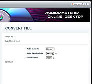 Audio Expert - free online audio editor, converter and recorder | Moodle and Web 2.0 | Scoop.it