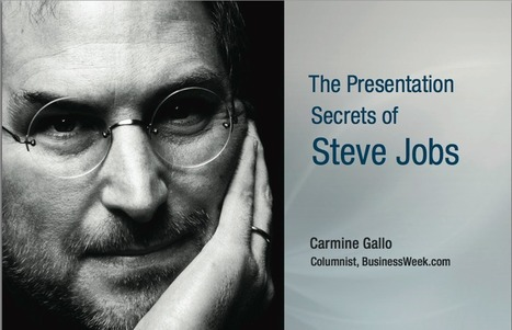 Steve Jobs: 10 Presentation Tactics for Ad Agency New Business | B2B New Business | Scoop.it