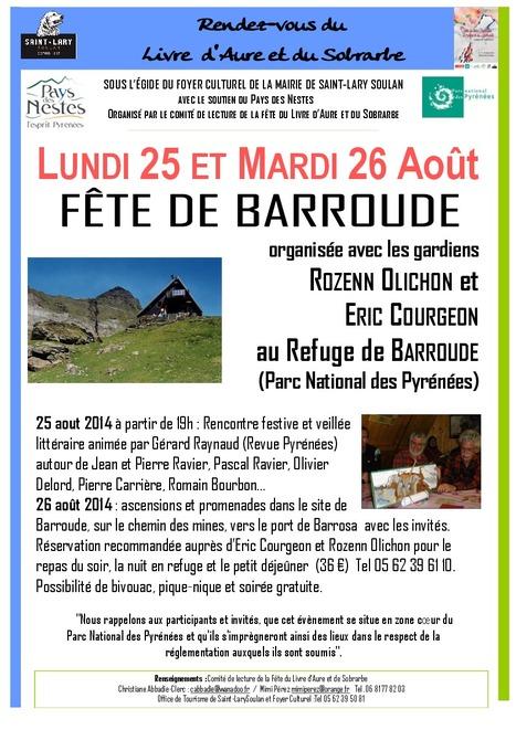 Fête de Barroude les 25 et 26 août | Vallée d'Aure - Pyrénées | Scoop.it