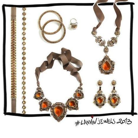Twitter / LANVINofficial: #Happy Tuesday! Presenting ... | digital jewelry jewellrey | Scoop.it