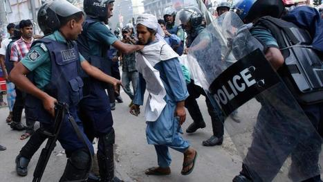 At least 10 dead in Bangladesh violence - Irish Times | Islam, The Religion of peace? LOL!! | Scoop.it