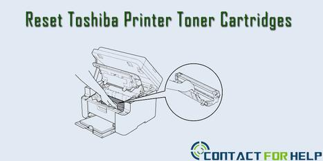 How to Reset Toshiba Toner Cartridges | cssolutions | Scoop.it