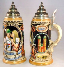 How to Choose Beer Glasses from Collections | German Beer Steins | Scoop.it