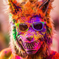 BesT CoLorFul HoLi PiCTuReS - COloRfuL FaCEs of Holi - Enjoy n Share | Holi Festival in India | Scoop.it