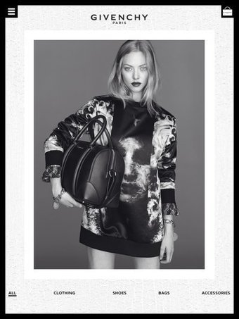 Givenchy looks to boost mcommerce with new app | Integrated Marketing Communications & Digital Planning | Scoop.it