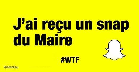 Sur Snapchat, ma mairie a trop le swag ! | HeureuxQuiCom' | Scoop.it