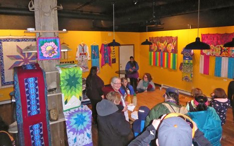Gizhiigin Fosters Native Art Entrepreneurs | First Nations | Scoop.it