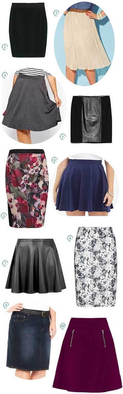 Les jupes – La sélection « grandes tailles » | Plus-Size Fashion | Scoop.it