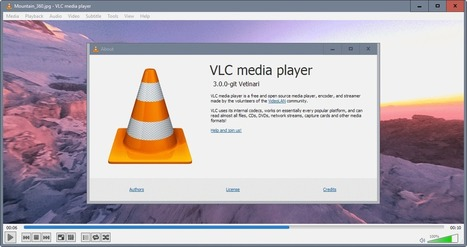 VLC 360: preview of VLC 3.0 with 360 support - gHacks Tech News | techno and social | Scoop.it
