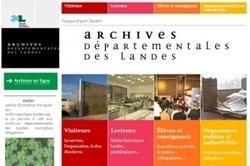 Visite guidée du site Internet des Archives des Landes | Histoire Familiale | Scoop.it