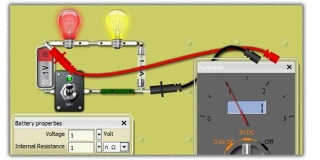 DC/AC Virtual Lab, online electronics circuits | Fysikundervisning | Scoop.it