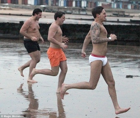 TOWIE boys strip off and go for a swim at the snowy beach / Share ...   Ibiza Rome   Scoop.it