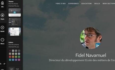 Branded.me Votre carte de visite haut de gamme sur le Web - Allweb2 - Les Outils du Web | Les outils du Web 2.0 | Scoop.it