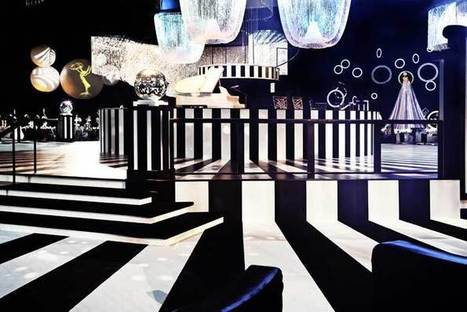 21 Ideas for Black-and-White Parties | BizBash | Event Rentals | Scoop.it