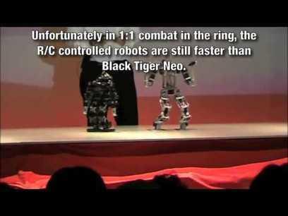 Autonomous Humanoid Robot Competes at Robot Japan | Post-Sapiens, les êtres technologiques | Scoop.it