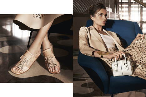 Tod's - Spring Summer 2014 - Woman Advertising Campaign | Le Marche & Fashion | Scoop.it