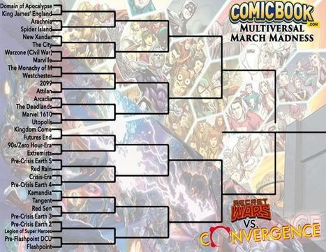 ComicBook.com's Multiversal March Madness | Comic Book Trends | Scoop.it