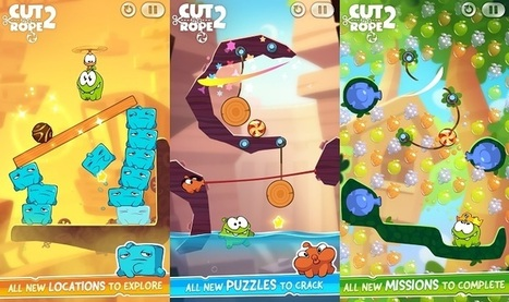 Cut the Rope 2 arrives to Android Play Store | WebSpydr | WebSpydr | Scoop.it