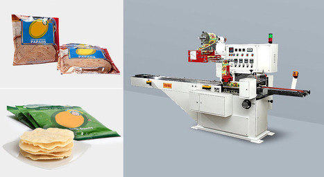 Appalam Packing Machine Exporter  Papad Packing Machine Manufacturer   Flow Wrap Machine Manufacturers in India   Scoop.it