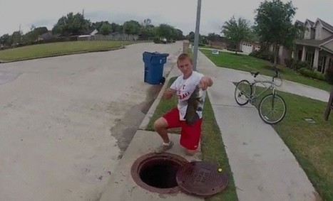 Would You Eat Fish Caught in the Sewer? Yes, Sewer Fishing Is Actually a Thing   Strange days indeed...   Scoop.it