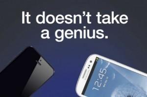 """Pubblicità Samsung : """"Non ci vuole un genio a capire che l' S3 è superiore""""   WEBOLUTION!   Scoop.it"""