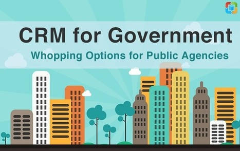 CRM for Government: Whopping Options for Public Agencies | CRM Reviews | Scoop.it
