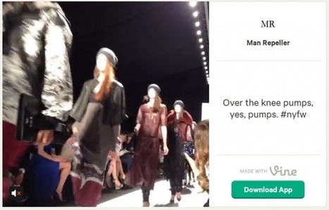 Vine steals some of Instagram's spotlight at New York Fashion Week | Digital Trends | Brand Marketing & Branding | Scoop.it