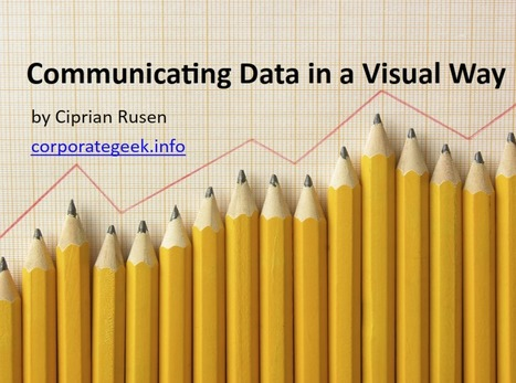 Communicating Data in a Visual Way | Bioinformatics Training | Scoop.it