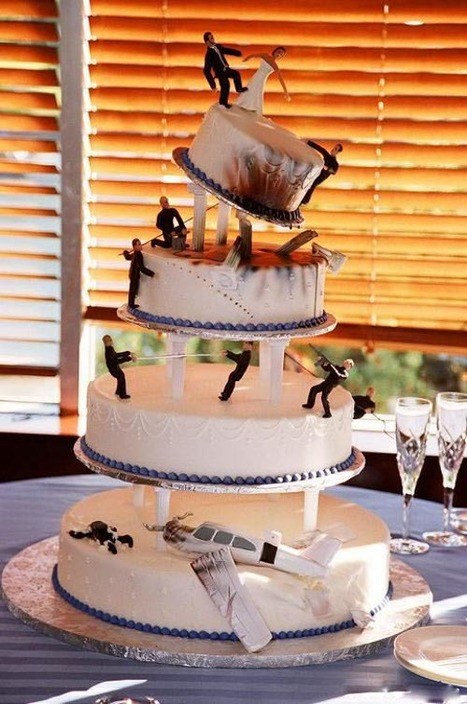 30 of the World's Greatest Wedding Cakes | Invitations By Dannye | Scoop.it
