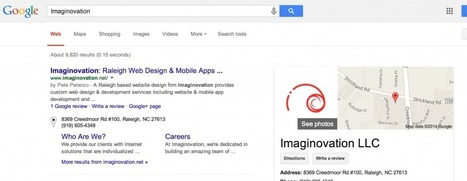 Imaginovation Raleigh Website Design Company Reviews | SEO and Social Media Business Resources | Scoop.it