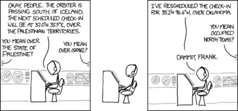 xkcd: Orbiter | Geography Education | Scoop.it