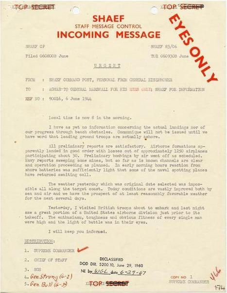Primary Source #3: D-Day - Invasion of Normandy - Operation Overlord Documents and Photos | Invasion Of Normandy (D-Day) | Scoop.it