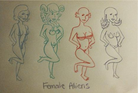 Alienating Gender Issues In Depictions Of Aliens   Herstory   Scoop.it