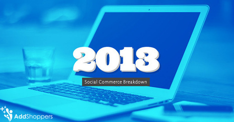 2013 Social Commerce Data Report | Great Stats For C-Level Execs  |  AddShoppers | Ecom Revolution | Scoop.it