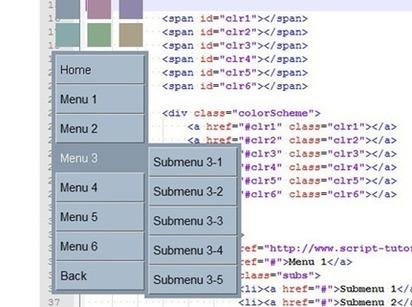 30 Tutoriales para diseñar menús desplegables en CSS3 y HTML5 | Noticias | Scoop.it